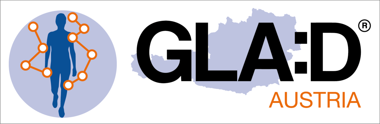 Logo GLA:D Austria